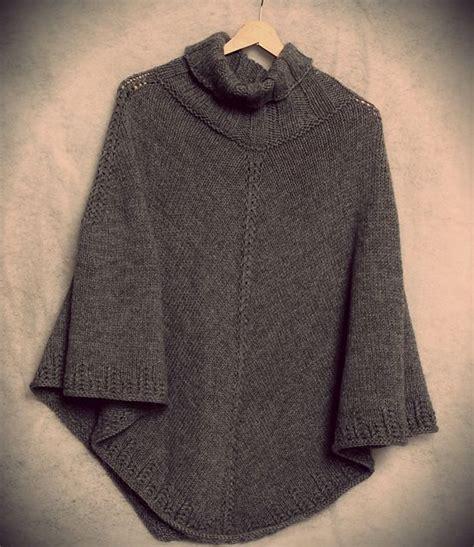 knit poncho best 25 poncho knitting patterns ideas on