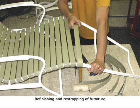 Patio Furn Patio Furniture Strap Furniture Refinish Restrap