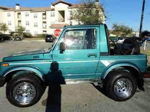 Used Suzuki 4x4 Sell Used Suzuki Samurai 4x4 1988 In San Antonio