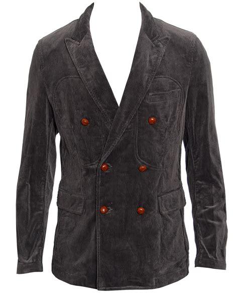 Grey Corduroy Comme Des Gar 231 Ons Corduroy Jacket In Gray For Grey