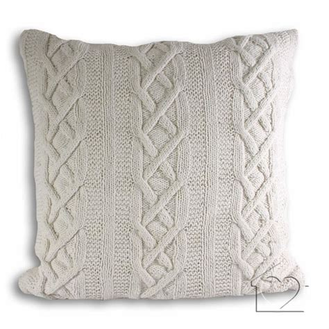 Knitted Cushions Free Patterns Comfy Knitted Cushions Crochet And Knit