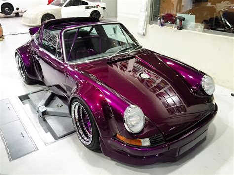rauh welt porsche purple a looking purple porsche 911s from rwb