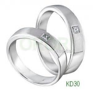 Cincin Nama Simpel Minimalis Perhiasan Nama cincin tunangan simpel kd30 kireina jewelry