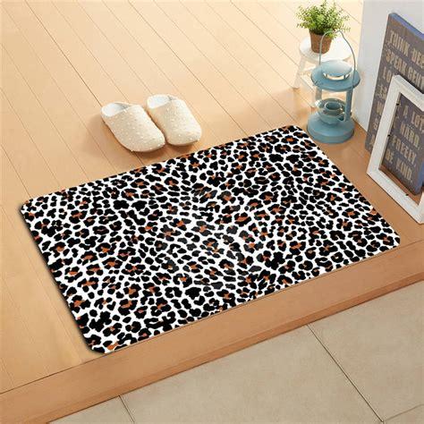 Leopard Doormat by K 131 Custom Classic Leopard Pattern Doormat Home Decor