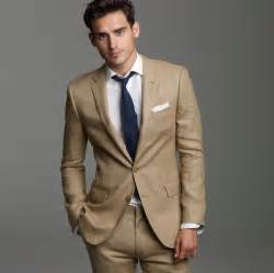 suit color best shirt tie combination for khaki linen suit at
