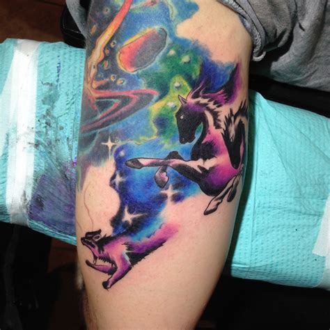 tattoo frequency instagram color space fox horse justin turkus philadelphia frequency