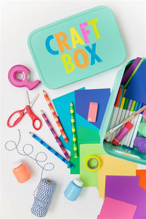 diy craft box tips on crafting with a diy tell and