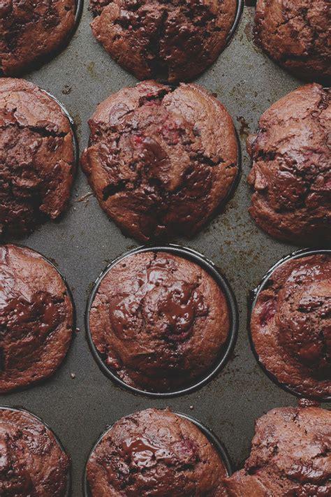 chocolate raspberry chocolate raspberry muffins the sugar hit