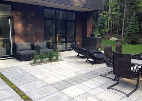 patio exterieur ligne directrice paysage lambert