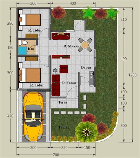 gambar denah rumah minimalis type 45 terbaru 2016 lensarumah