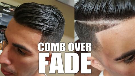 how ro do a comb over fade how to do a mid skin fade comb over with a part line best