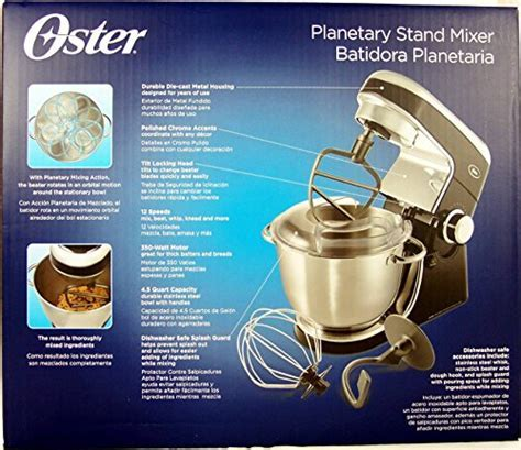Oster Planetary Stand Mixer, Black   Buy Online in UAE