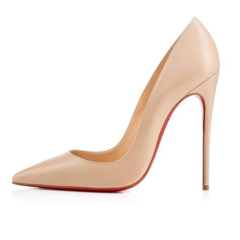 Shoes Christian Louboutin Po245 1 christian louboutin so kate blush n 176 1 in beige blush lyst