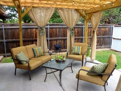 burlap outdoor curtains pin by kaela schrad lockhart on outdoor pinterest