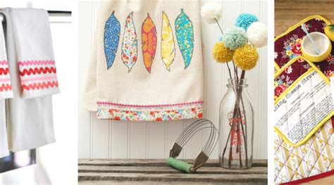 diy sewing projects home decor sewing diy home d 233 cor crafts for your kitchen favecrafts