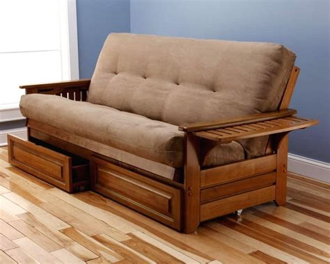 futon bed frame wooden frame futon sofa bed modern futon bed frame and