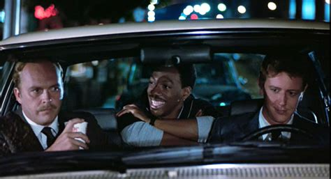 judge reinhold runaway car beverly hills cop 1984 review basementrejects