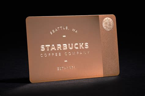 Starbucks Gift Card Rewards - starbucks offers new limited edition metal starbucks card in time for the holidays