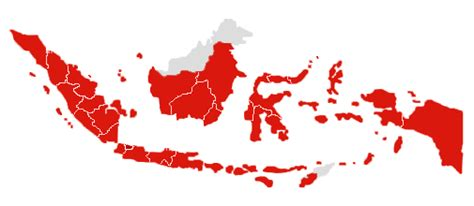 Stiker Republik Indonesia Merah ombak73 indonesia negara paling ramai penduduk muslim di
