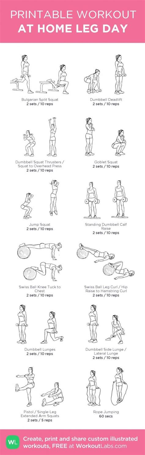 1000 ideas about dumbbell workout at home on