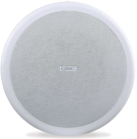 qsc ac c8t two way 8 quot acousticcoverage ceiling speaker