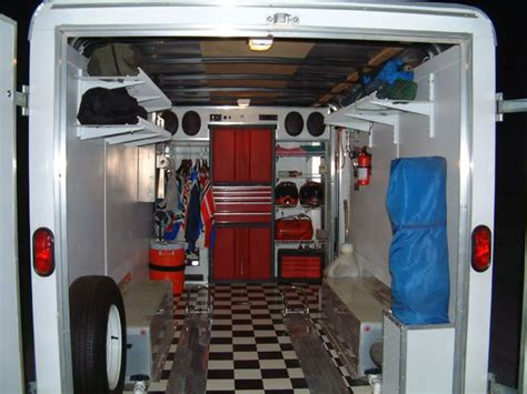 Enclosed Trailer Setups   Trucks, Trailers, RV's & Toy