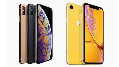 iphone xs  iphone xr    difference macworld uk
