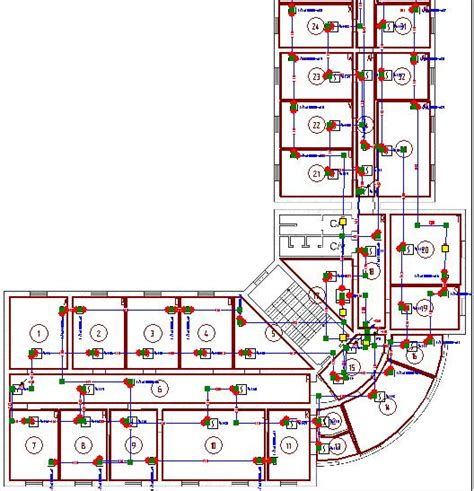 network diagram software for electric network alarm