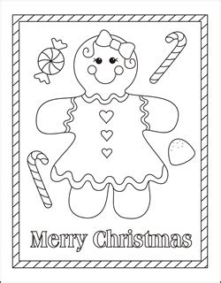 cute gingerbread man coloring page gingerbread man fox colouring pages