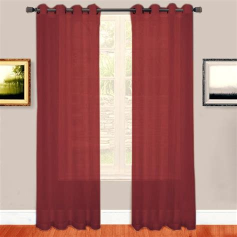red sheer curtain panels 17 best ideas about red curtains on pinterest red