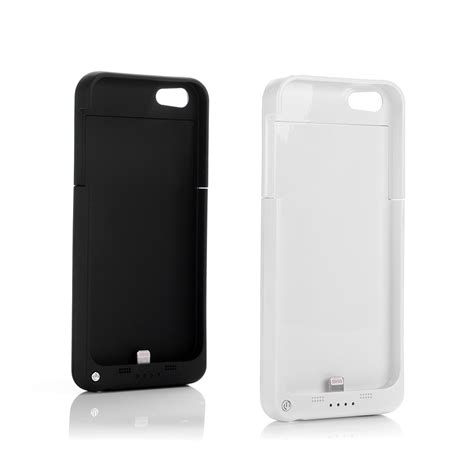 2200mAh Rechargeable External Battery Backup Charger Case