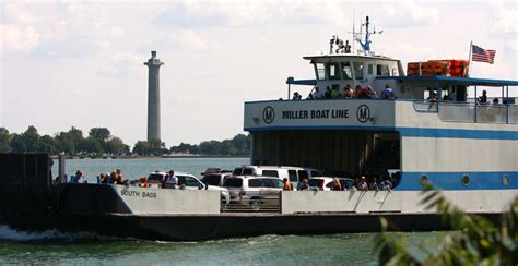 miller boat line schedule middle bass miller ferry middle bass island lodging