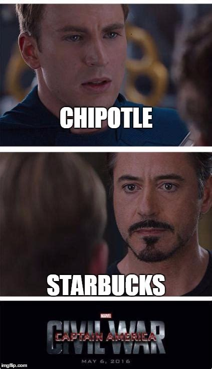 Chipotle Memes - captain america civil war imgflip