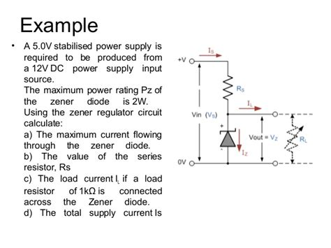 using zener diodes in series zener diodes