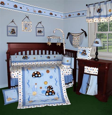 fish crib bedding modern fish bedding sets design homesfeed