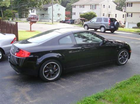 2003 infiniti g35 black sell used 2003 infiniti g35 coupe 2 door 3 5l black on