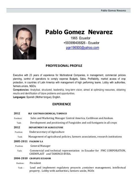 Modelo Carta De Presentacion Curriculum En Ingles Curriculum Vitae Modelo Combinado Ingles