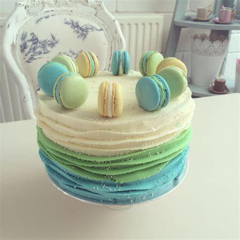 Macaron Layer Cakes   Crumbs Couture Cupcakes