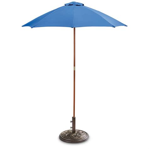 Castlecreek 6 Wooden Pole And Umbrella 657790 Patio Patio Umbrella Pole