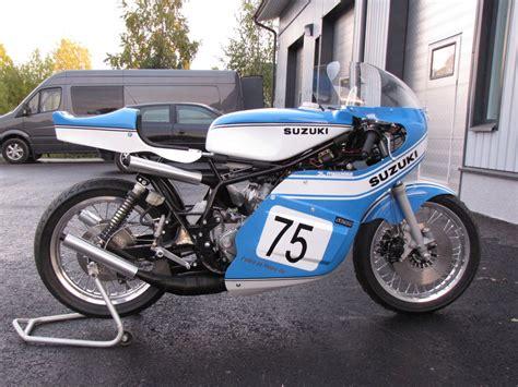 Motorrad Suzuki Forum by Suzuki Tr 750 Replica Von Juha Kaivonurmi Vorstellung