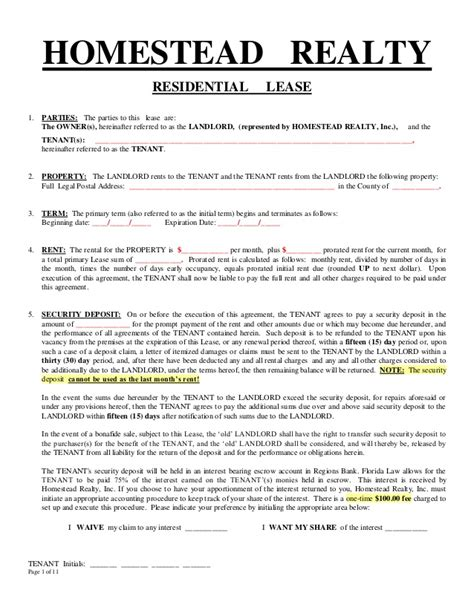 lease breakage receipt template generic lease