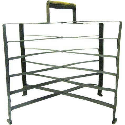 Pie Holder Racks by Turn Of The Century Folding Metal Pie Cooling Rack With