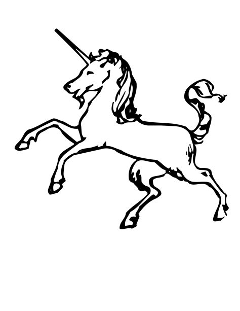 mystical unicorn coloring page how to draw mystical unicorn
