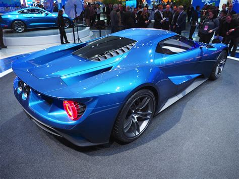 gt gt ford gt comes to 2015 detroit with 600 horsepower