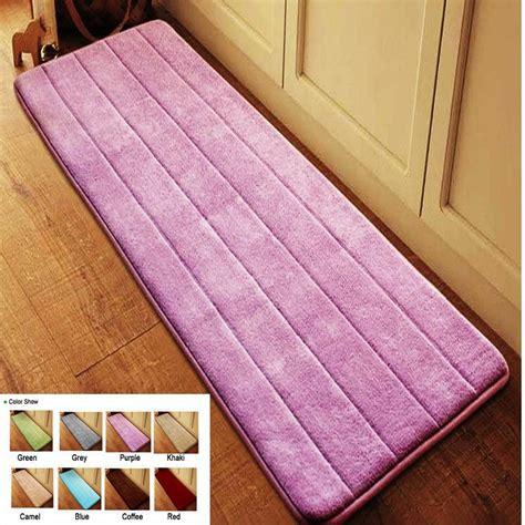 Floor Mats For The Bathroom ᗑantislip Velvet Bathroom Door Mat Absorbent Absorbent