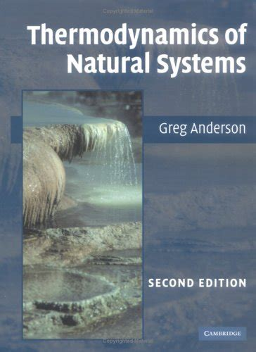 Pdf Thermodynamics Of Natural Systems Free Ebooks