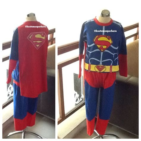 Baju Kaos Superman baju superman anak superheroku