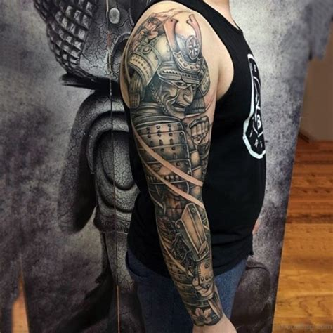 samurai warrior sleeve tattoos designs 62 exclusive sleeve tattoos for