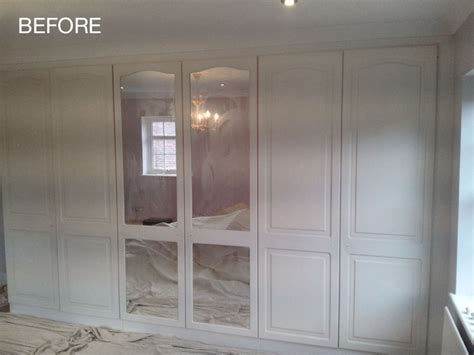 Painting Wardrobe Doors by Portfolio Of Painting And Decorating Work Pinner Middlesex
