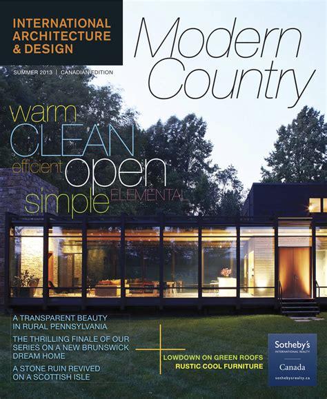 architecture design magazines